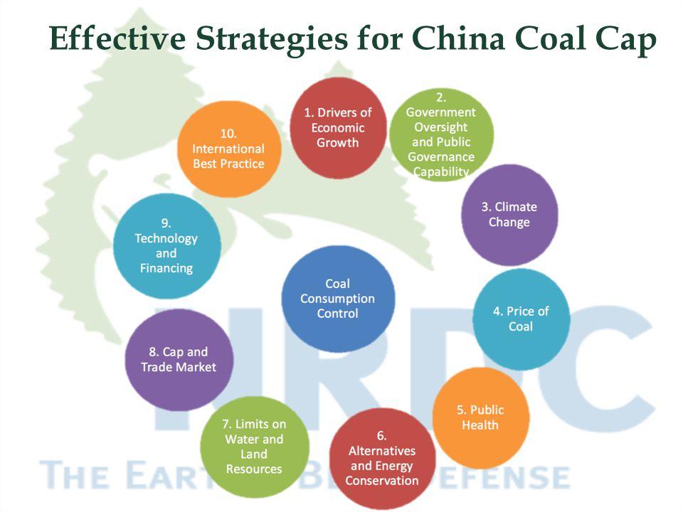 Effective Strategies for China Coal Cap