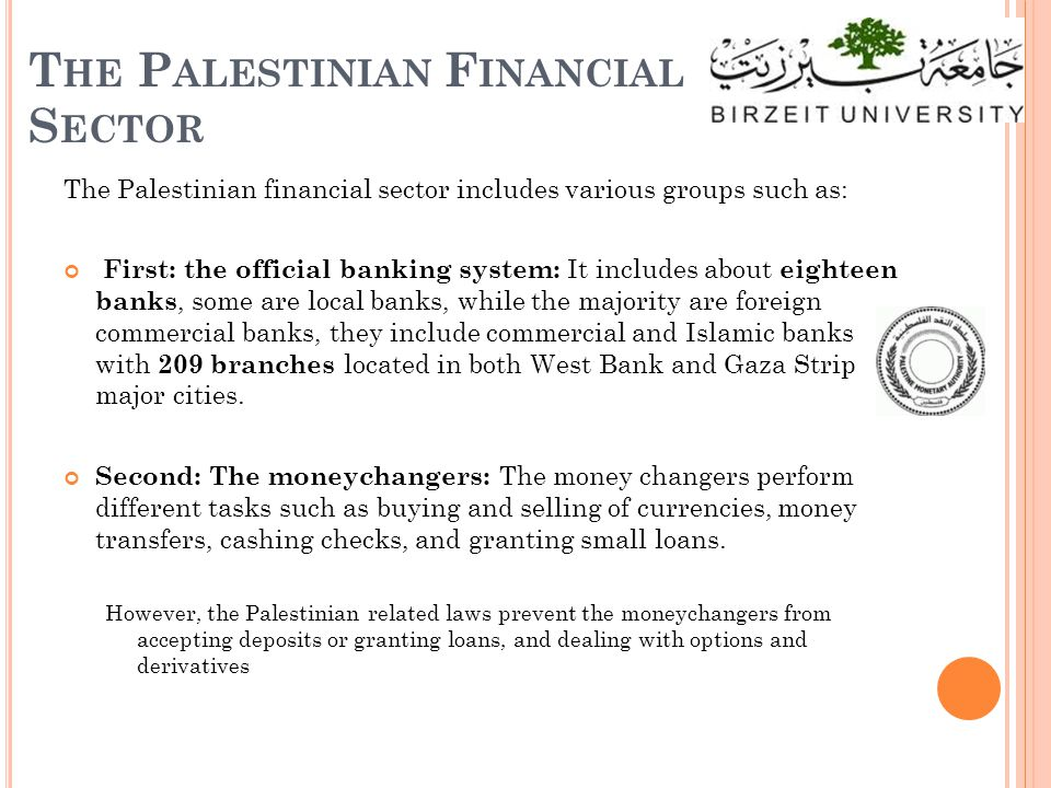C ONCLUSION All banks having ATM machines, dealing with three currencies including JD, NIS, and USD with various transactions, while only half of the banks issue credit cards to their clients, with limited use during travels outside Palestine compared to ATM and Visa Electron cards.