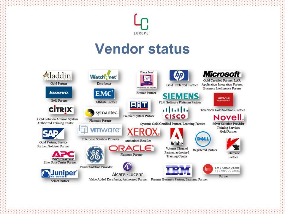 Vendor status