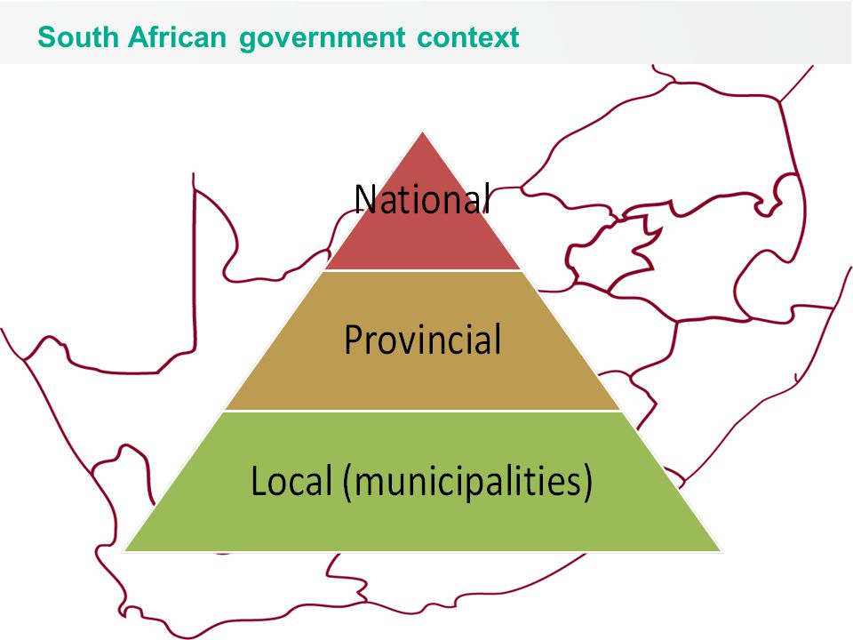 4 South African government context