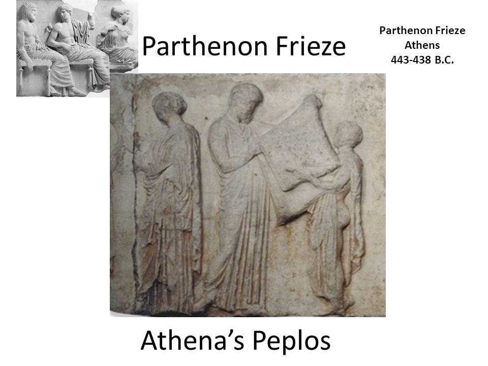 Parthenon Frieze Athens 443-438 B.C. Athena's Peplos
