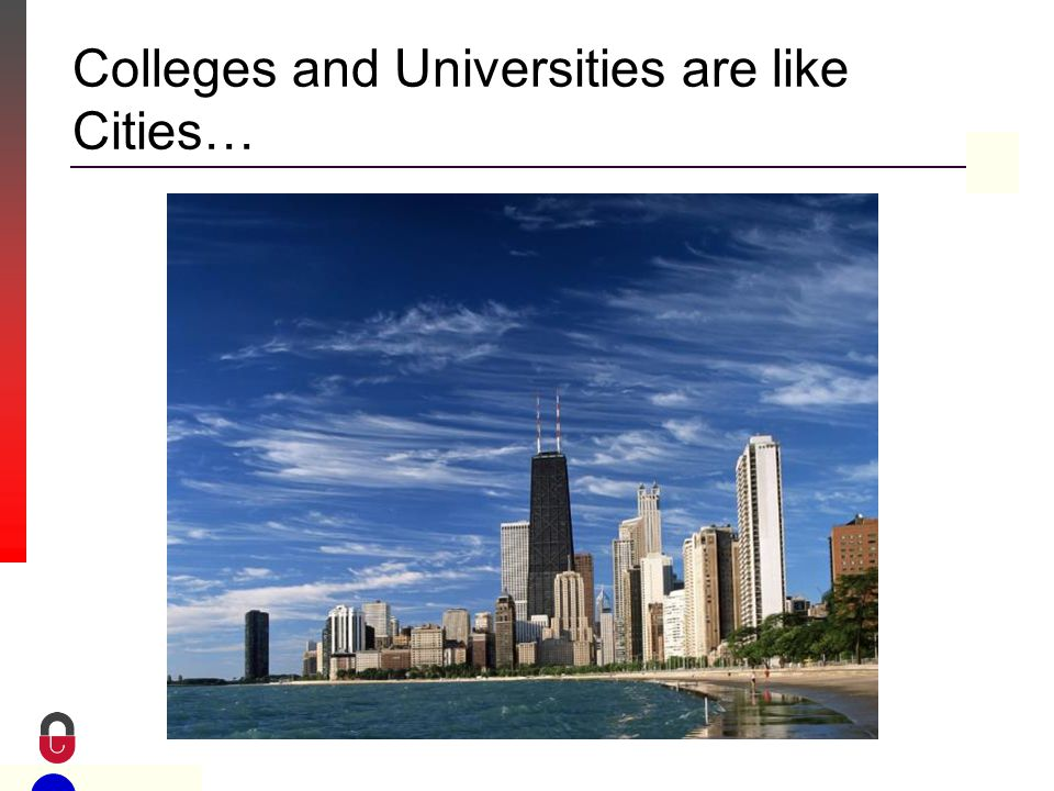 Property of CampusGuard Colleges and Universities are like Cities…