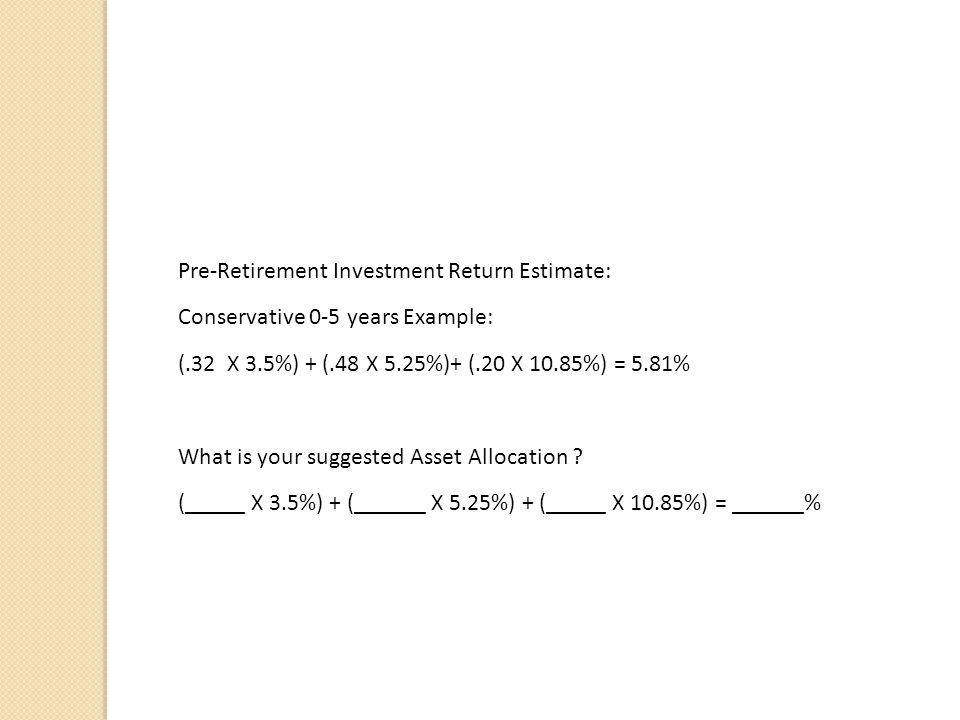 What is in YOUR Mutual Fund? Google Morningstar.com Click on the Funds tab