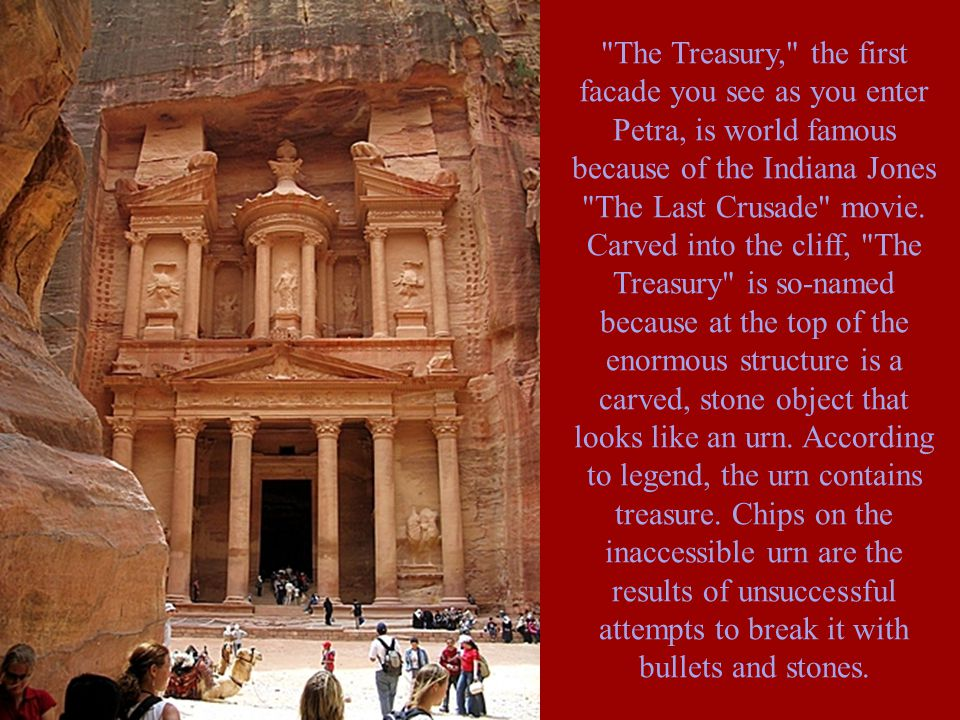 Petra was one of the most easy to defend cities of the ancient world.