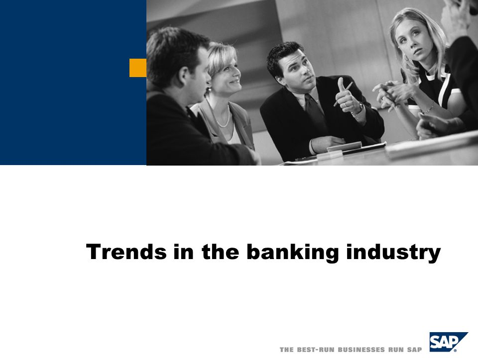 Trends in the banking industry