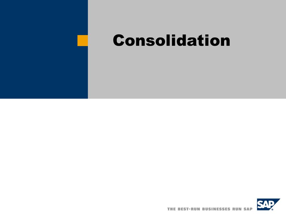 The Consolidation Process Is Driven by Merging Banks or Business Lines Consolidation Horizontal consolidation Merging banks or business lines covering identical value chains Vertical consolidation Objective: Improve critical size/market share to improve economies of scale e.g.