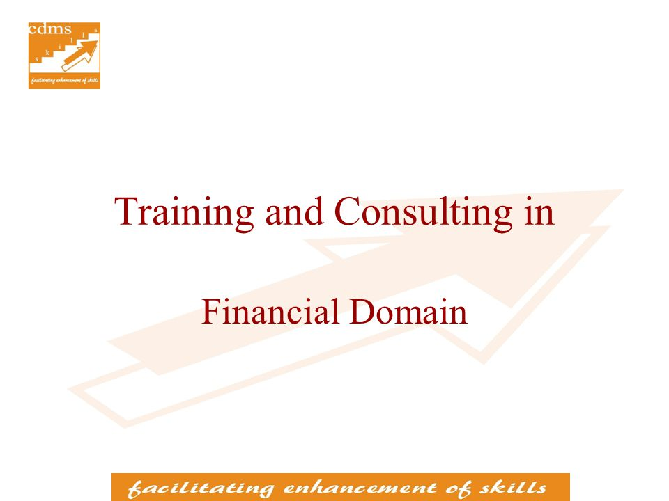Training for Certification Examinations Coaching for Financial Certification Examinations Presentation on Financial Domain
