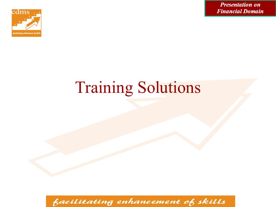 Training in Accounting Standards International Financial Reporting Standards (IFRS) back Presentation on Financial Domain