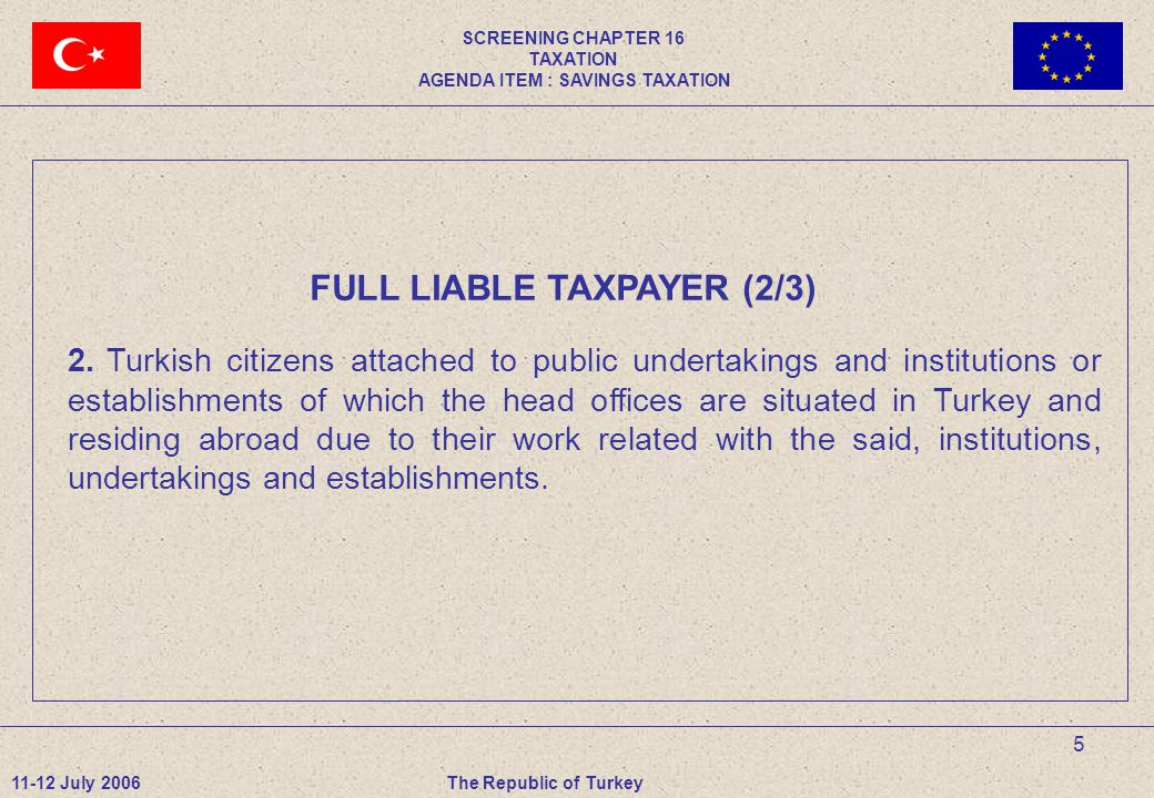 5 FULL LIABLE TAXPAYER (2/3) 2.