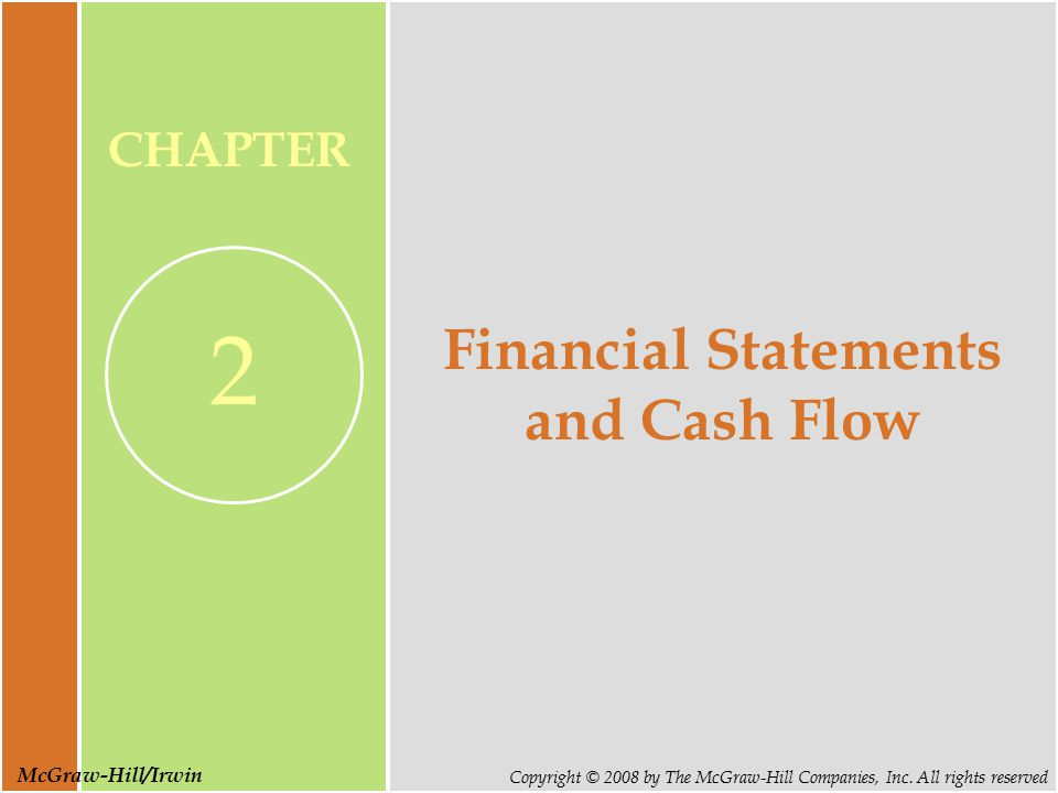 Slide 2 Copyright © 2008 by The McGraw-Hill Companies, Inc.