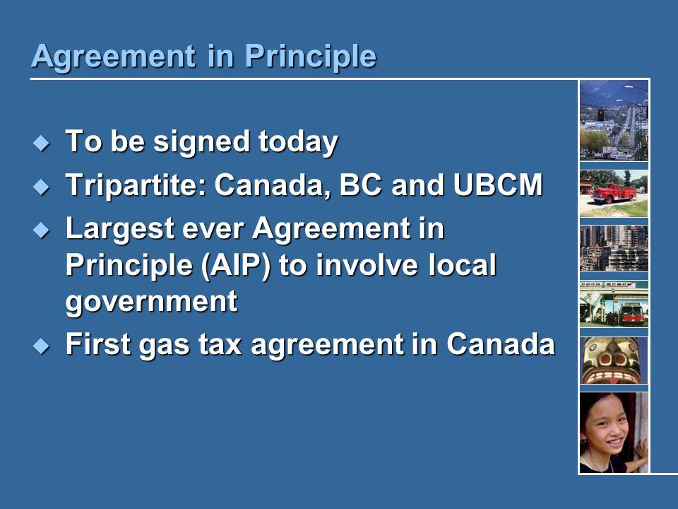 AIP is not a Final Agreement  Needed time for federal government to get Cabinet/Treasury Board approvals  New federal budget approvals to flow funds