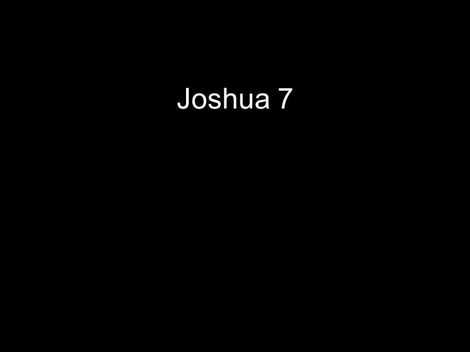 Joshua 7