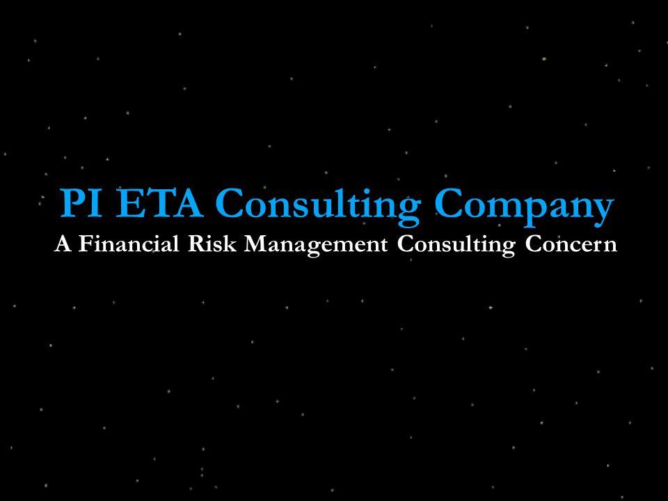 PI ETA Consulting Company A Financial Risk Management Consulting Concern
