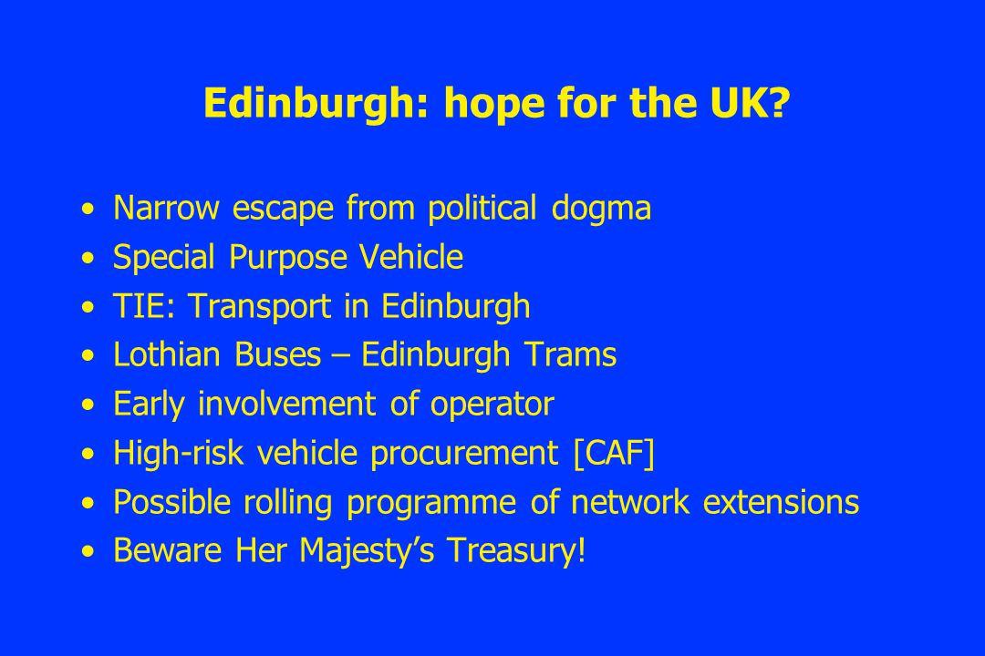 Edinburgh: hope for the UK.