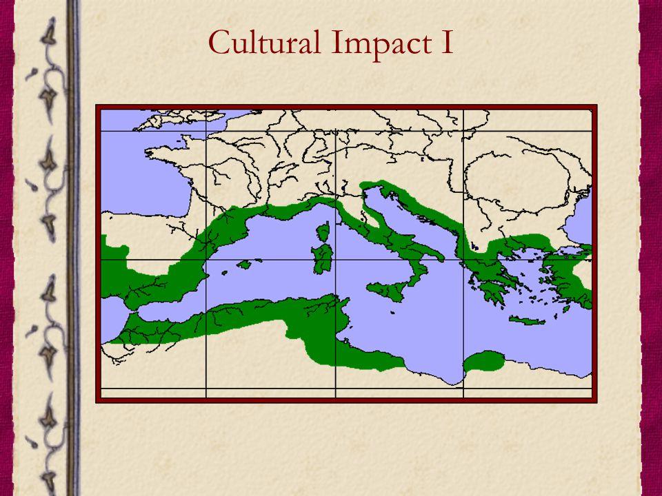 Cultural Impact I