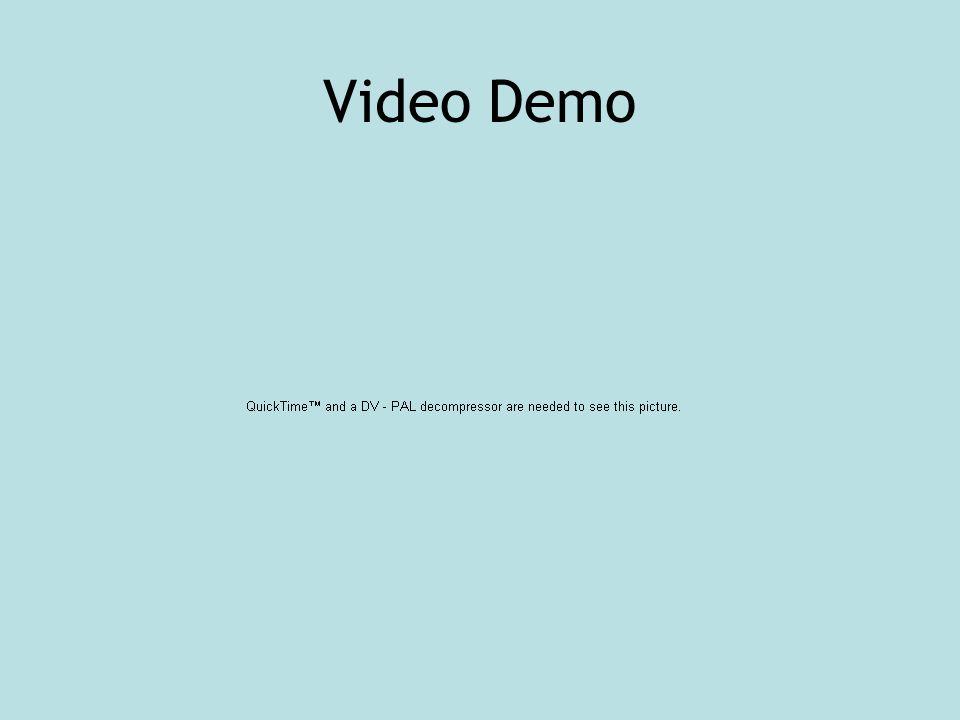 Video Demo