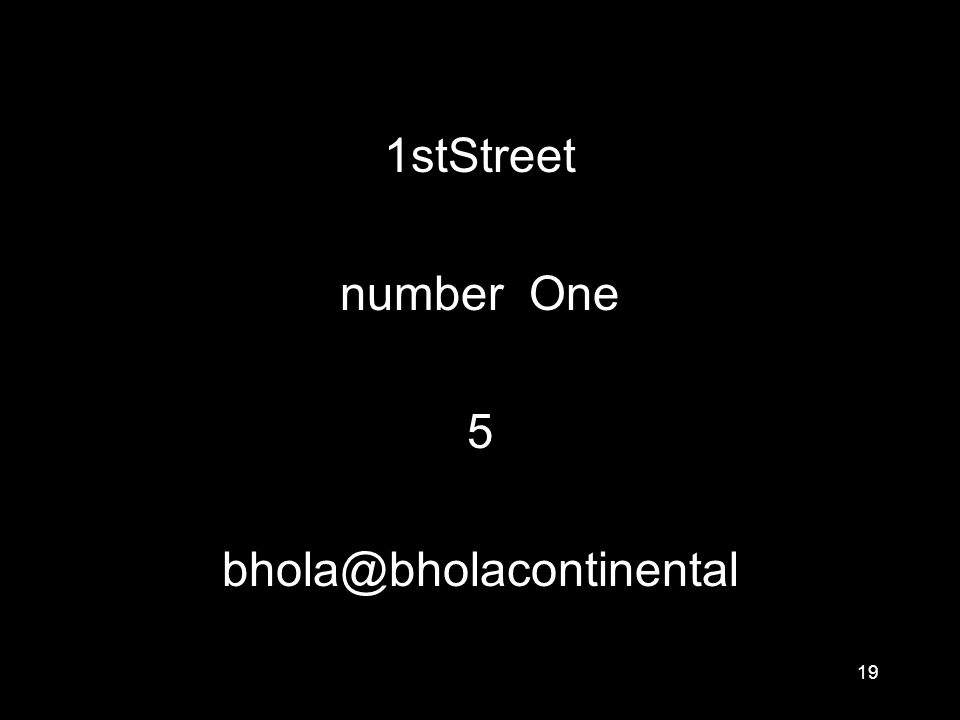 19 1stStreet number One 5 bhola@bholacontinental
