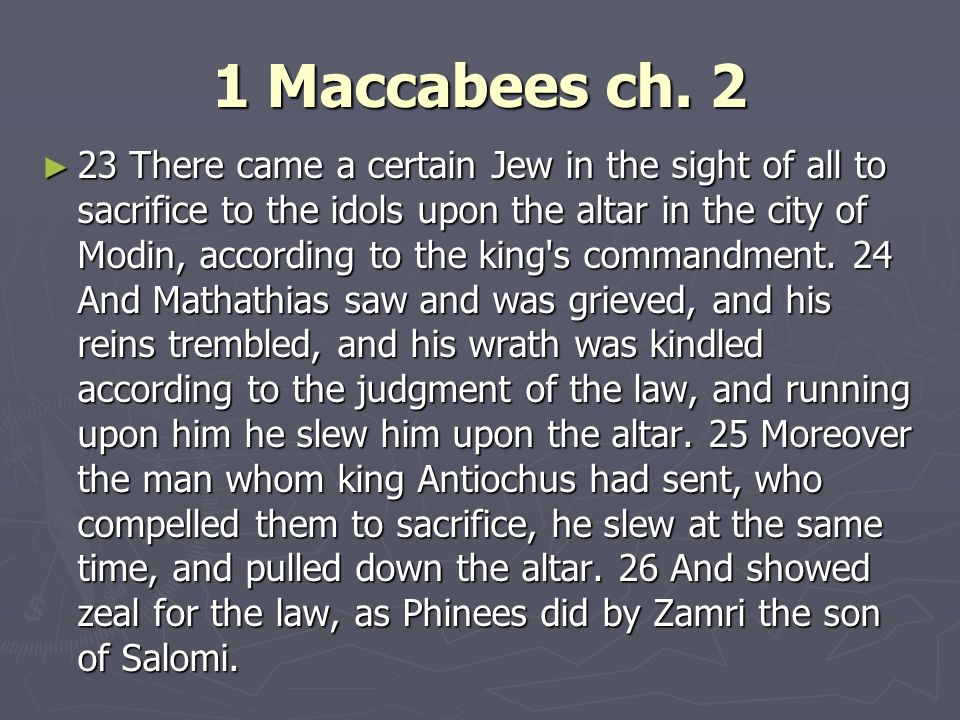 1 Maccabees ch.