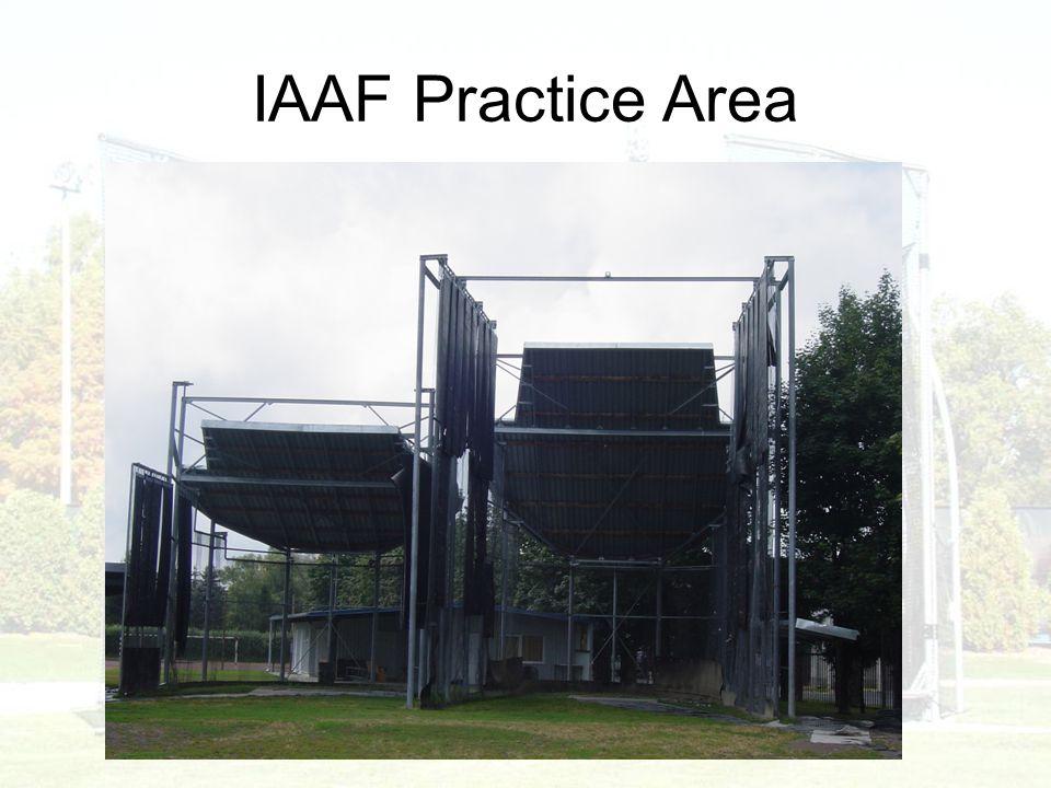 IAAF Practice Area