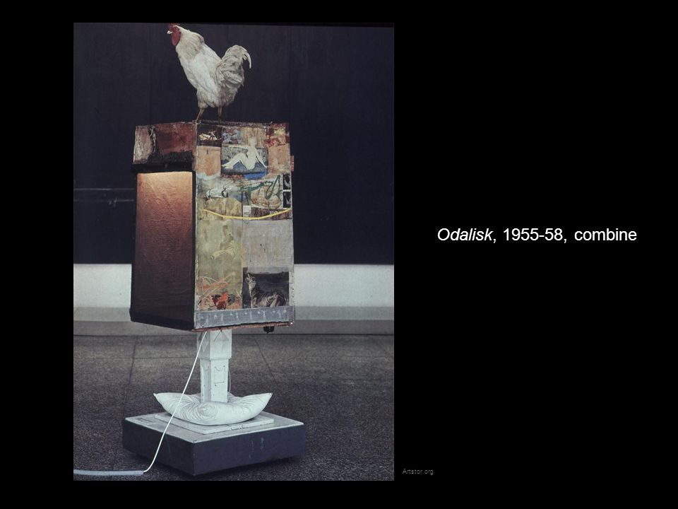 Odalisk, 1955-58, combine Artstor.org