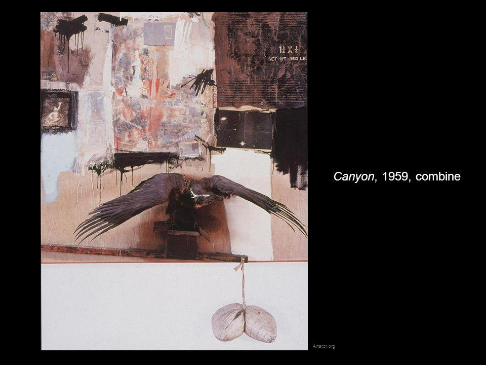 Canyon, 1959, combine Artstor.org