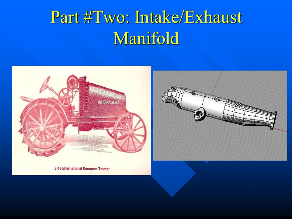 Part #Two: Intake/Exhaust Manifold