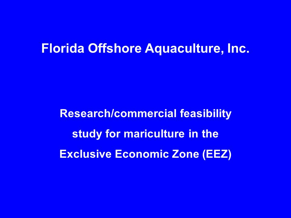 Florida Offshore Aquaculture, Inc.