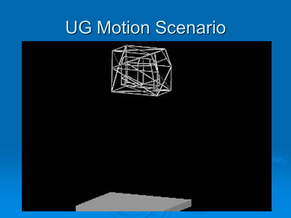 Spring Motion Analysis Using Unigraphics Motion software we attached the inner cage to the outer cage using springs with a stiffness of 150.