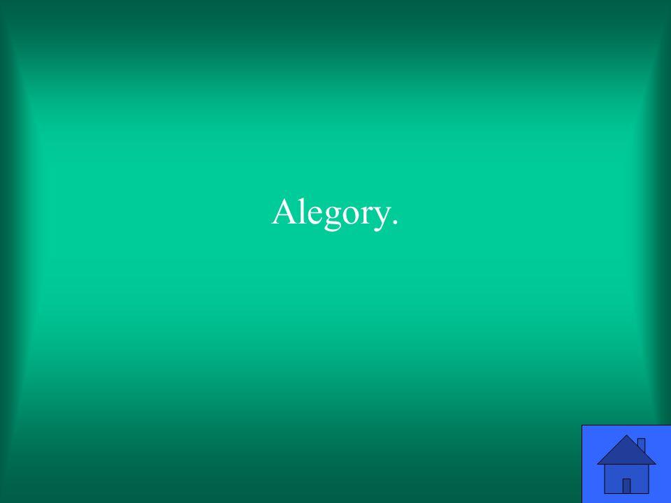 Alegory.