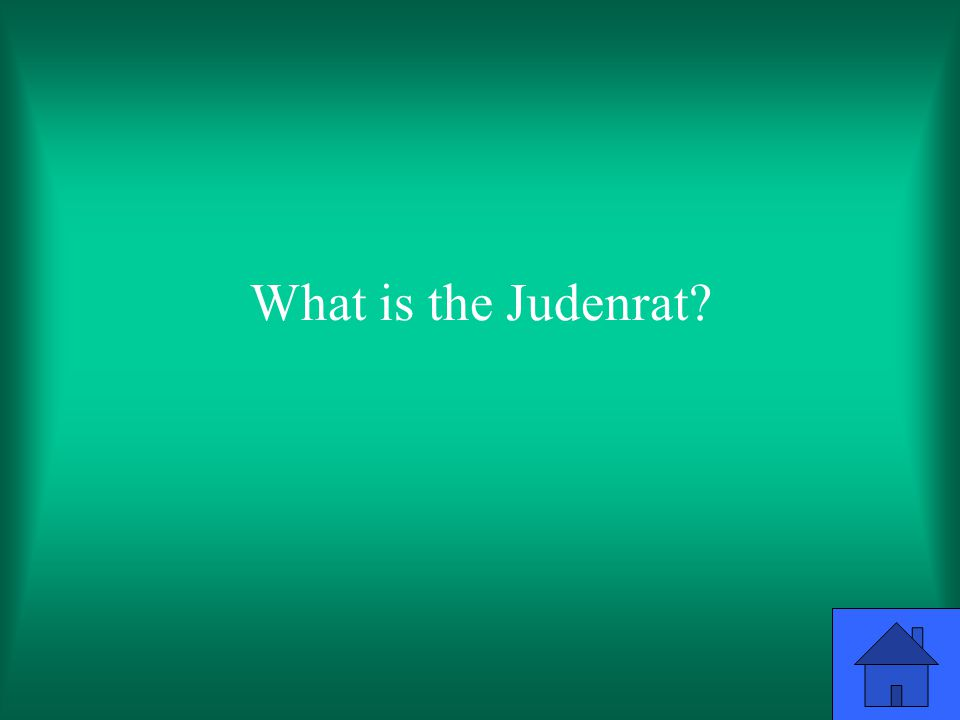 What is the Judenrat