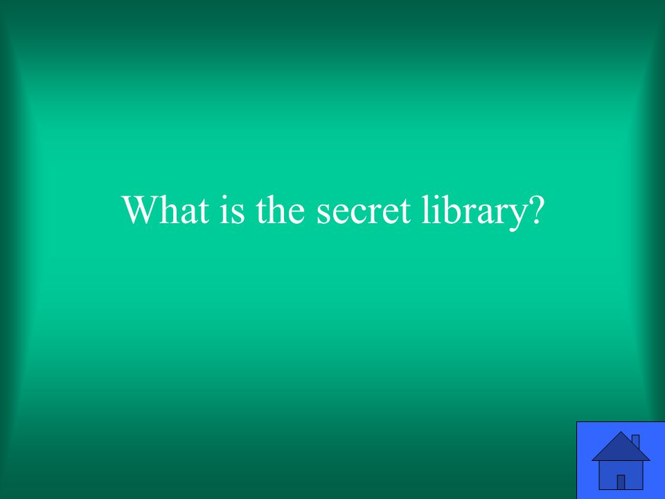 What is the secret library