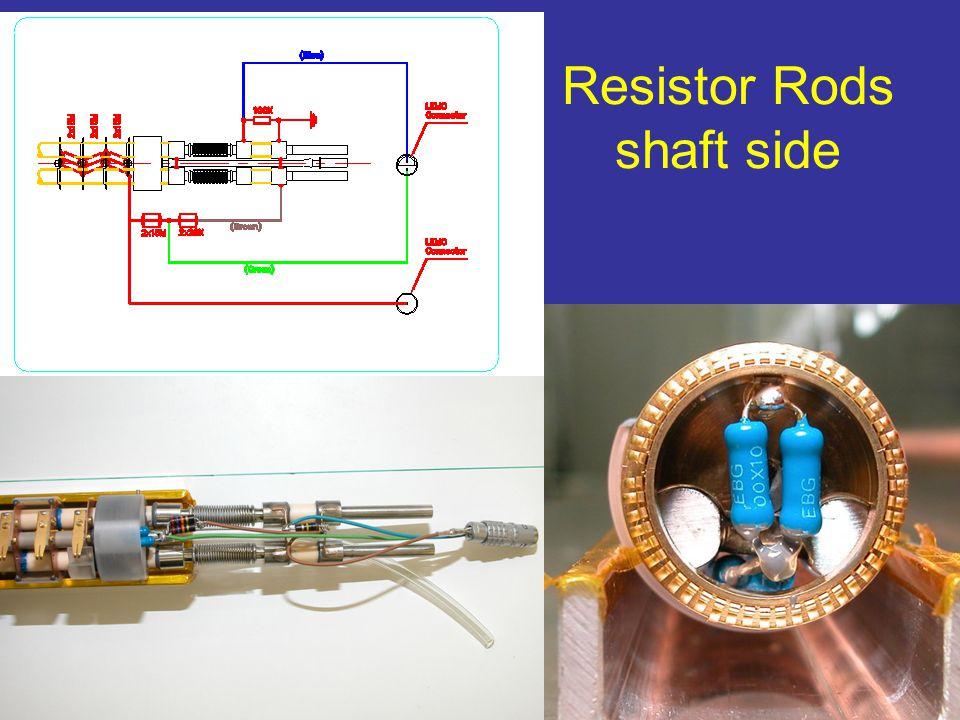 Resistor Rods shaft side