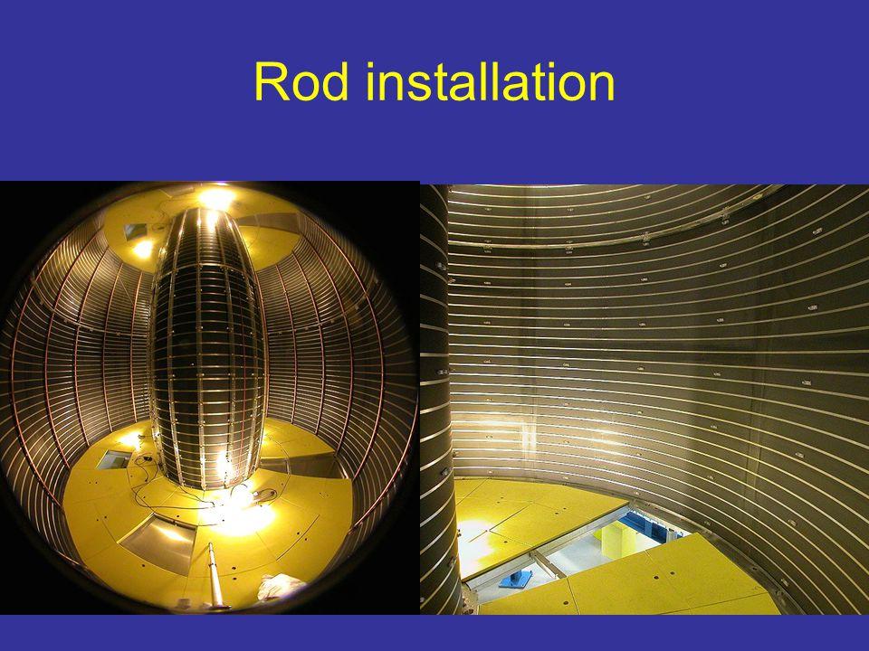Rod installation