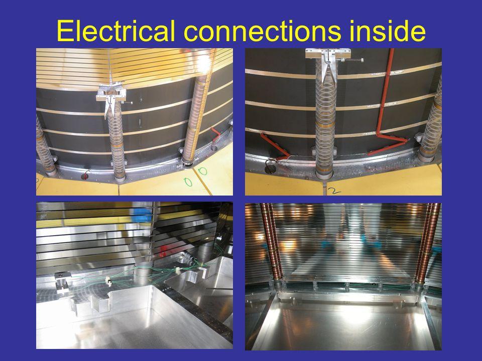 Resistor rod shaft side HV tests