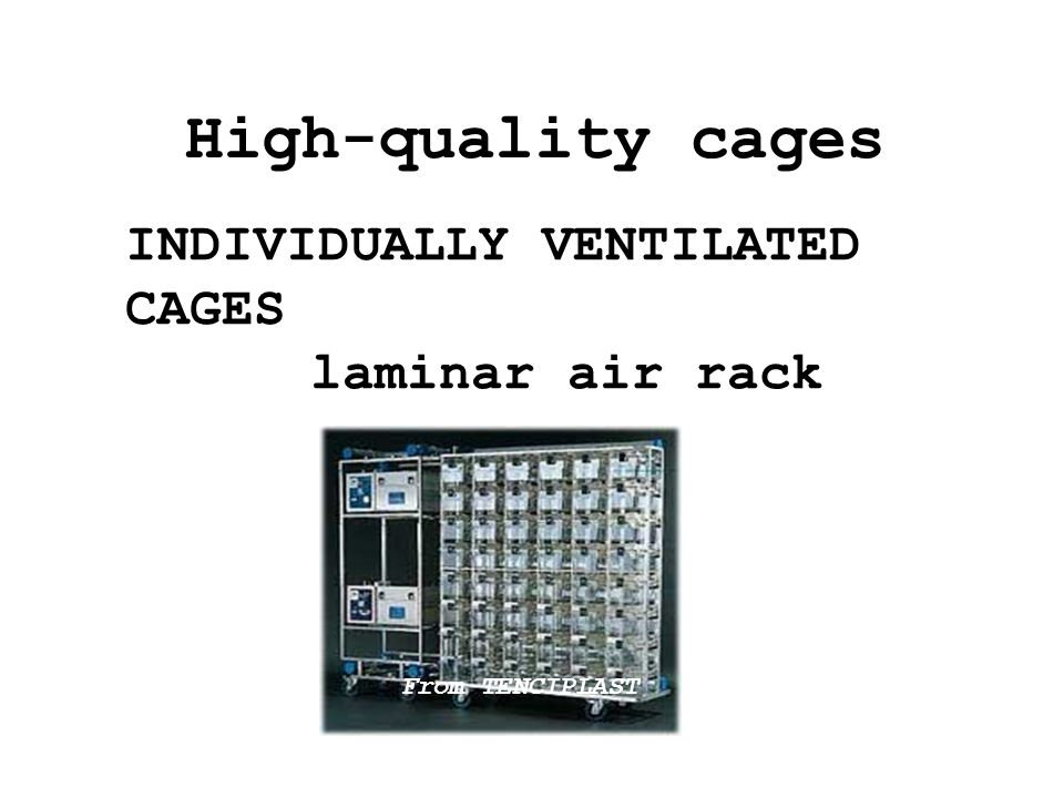 Ventilation efficiency with low velocity Air Speed Visibility Easy access