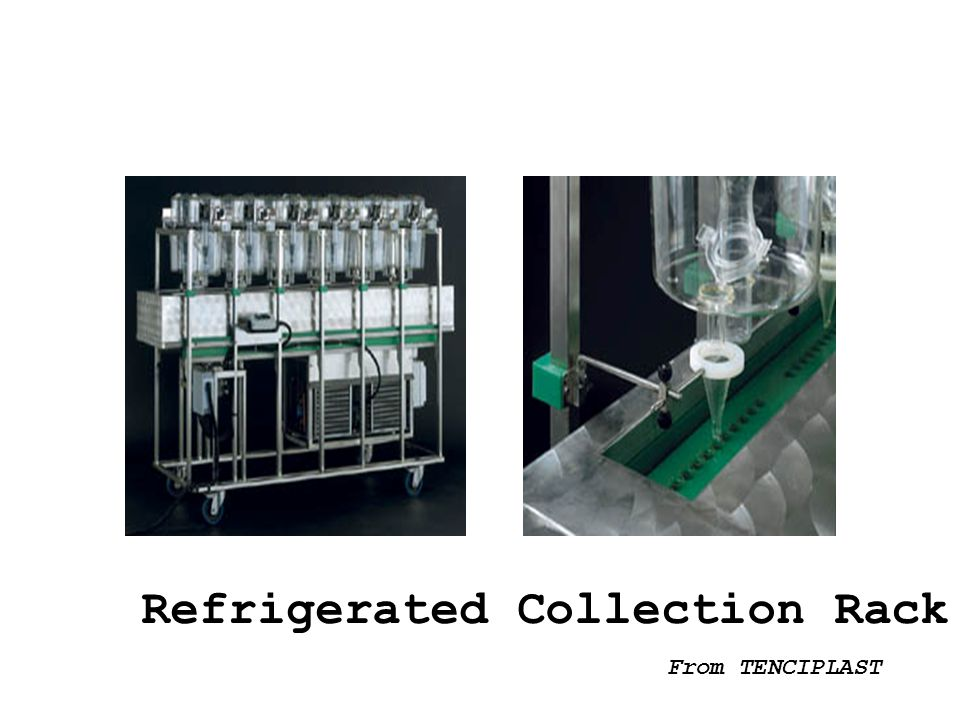 Refrigerated Collection Rack
