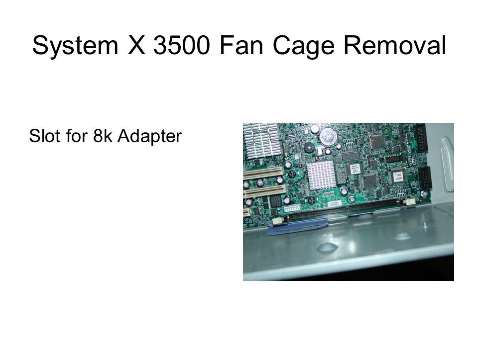 Slot for 8k Adapter
