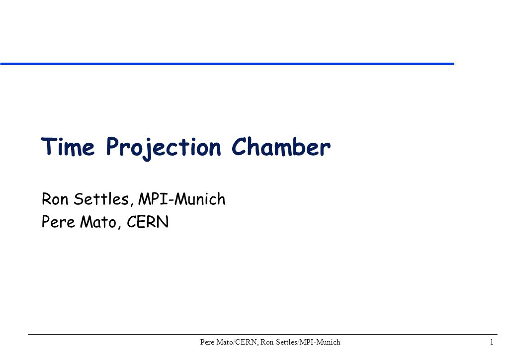 Pere Mato/CERN, Ron Settles/MPI-Munich32 Analog Electronics ALEPH analog electronics chain –Large number of channels O(10 5 ) –Large channel densities –Integration in wire chamber –Power dissipation –Low noise