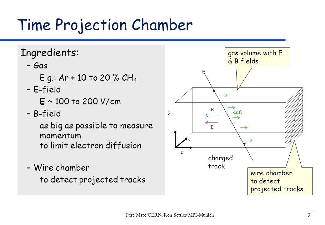 Pere Mato/CERN, Ron Settles/MPI-Munich14 Coordinate Resolutions: ALEPH TPC