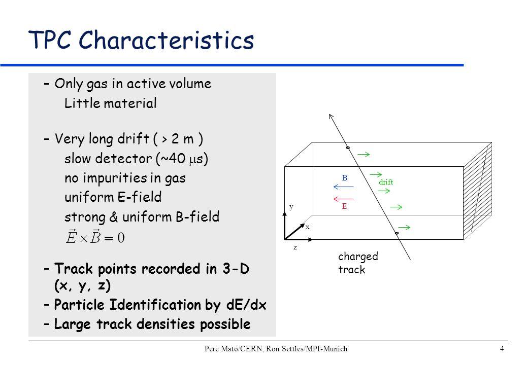 Pere Mato/CERN, Ron Settles/MPI-Munich5 Detector with TPC