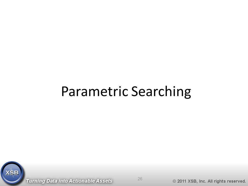 Parametric Searching 26