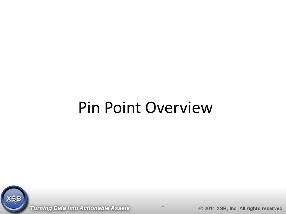 Pin Point Overview 4