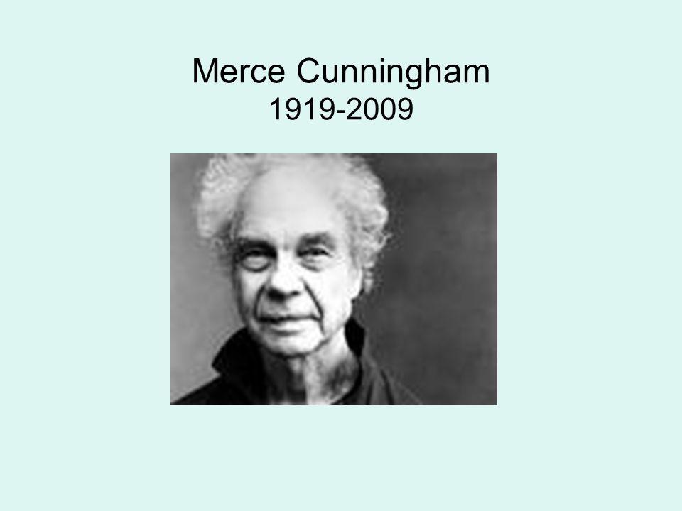 Merce Cunningham 1919-2009