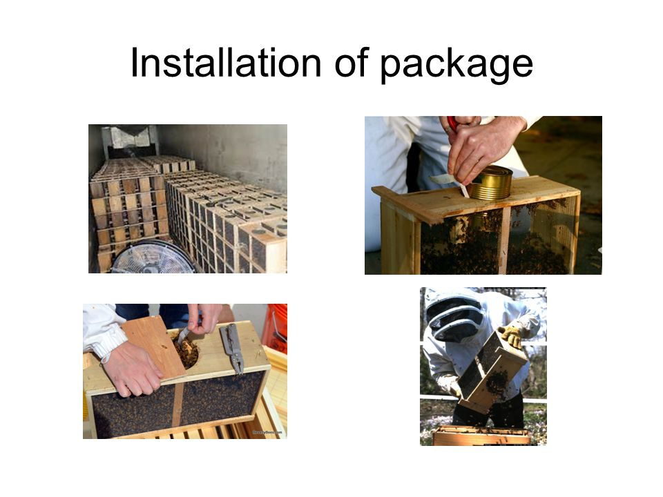 Installation of package