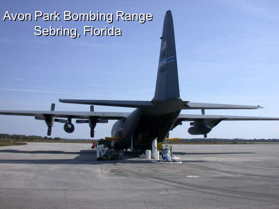 Avon Park Bombing Range Sebring, Florida Avon Park Bombing Range Sebring, Florida