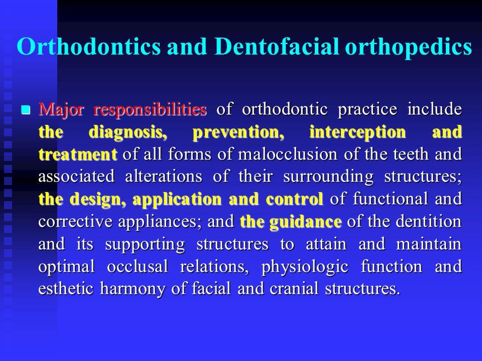 Questions n Do you know the hazards of Dentofacial deformities.