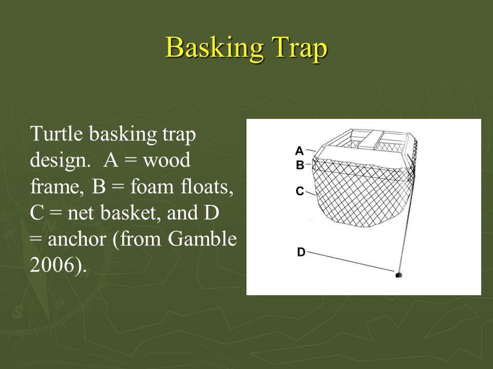 Basking Trap Turtle basking trap design.
