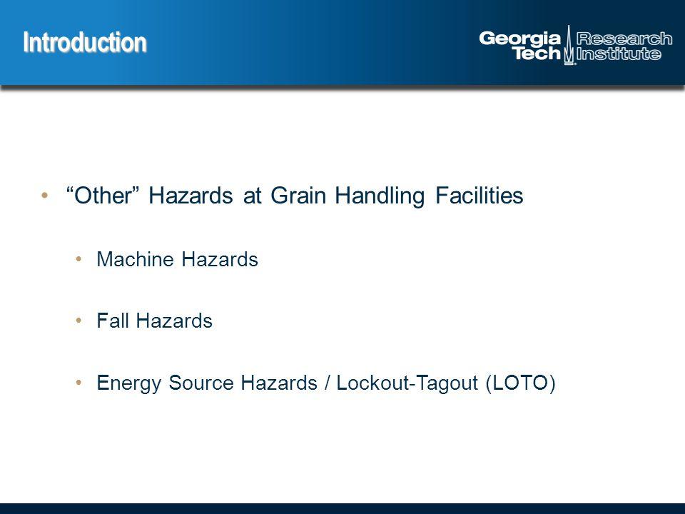 Machine Hazards in Grain Handling