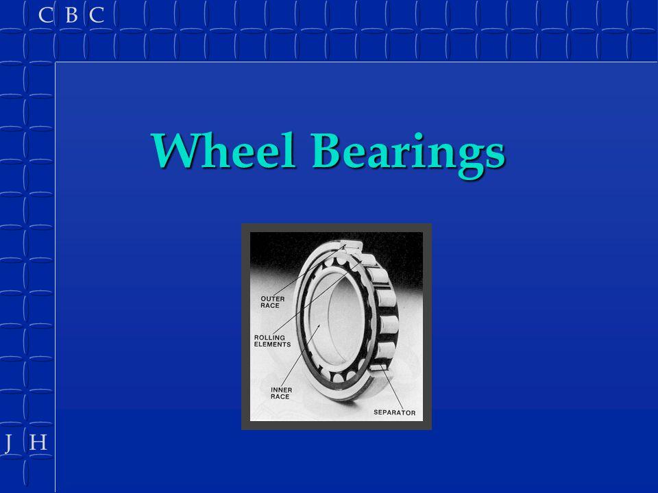 J H C B C Bearing uses B Pivots B Wheels B Rotating shafts B Oscillating shafts B Sliding shafts