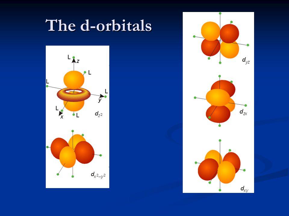 The d-orbitals
